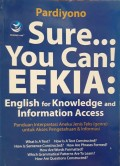 Sure You Can English for Knowledge and Information Access